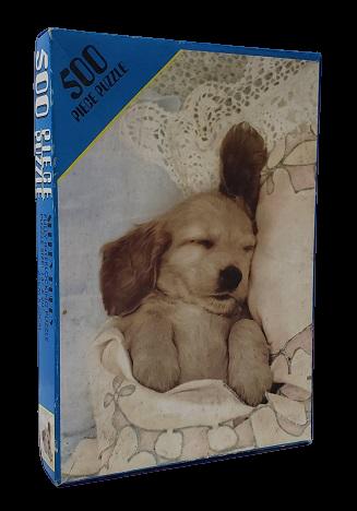 Quebra-Cabeça 500 peças - Fully Interlocking, Sleep Puppy