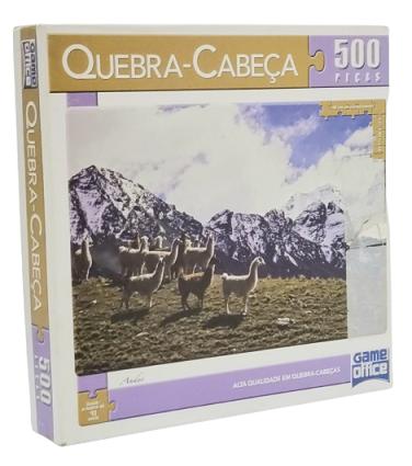 Quebra-Cabeça 500 peças - Game Office - Andes
