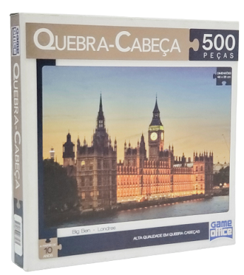 Quebra-Cabeça 500 peças - Game Office - Big Ben Londres