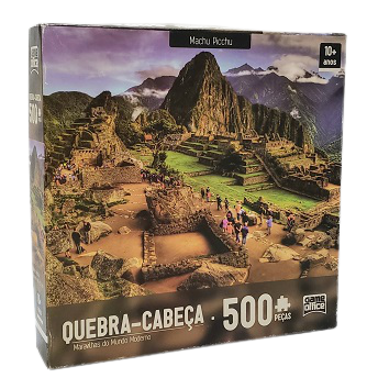 Quebra-Cabeça 500 peças - Game Office, Maravilhas do Mundo Moderno