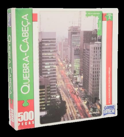 Quebra-Cabeça 500 peças - Game Office - São Paulo