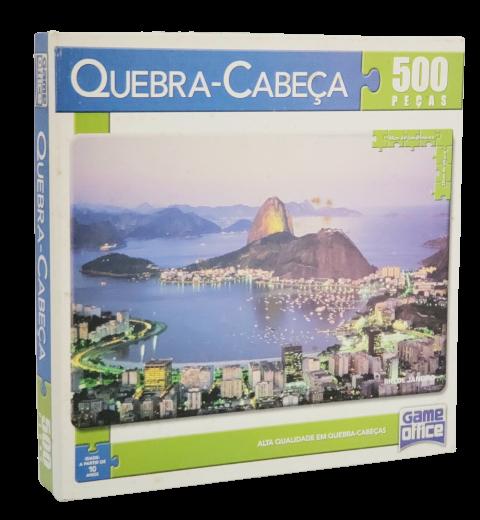 Quebra-Cabeça 500 peças - Game Office - Rio de Janeiro