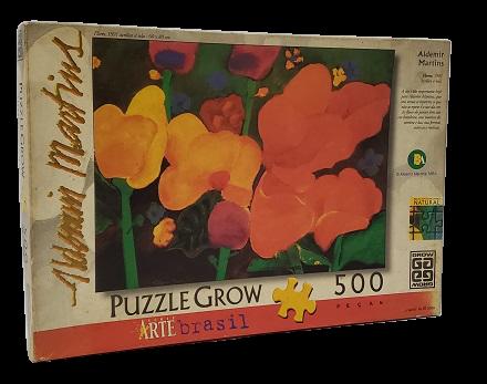 Quebra-Cabeça 500 peças - Grow - Aldemir Martins