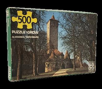 Quebra-Cabeça 500 peças - Grow - Alemanha - Rotemburg