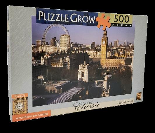 Quebra-Cabeça 500 peças - Grow - Amanhecer em Londres