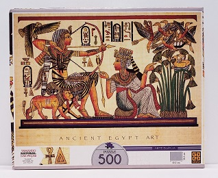 Quebra-Cabeça 500 peças - Grow - Ancient Egypt Art