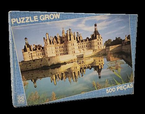 Quebra-Cabeça 500 peças - Grow - Castelo de Chambord