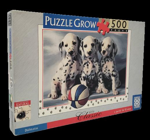 Quebra-Cabeça 500 peças - Grow - Dálmatas