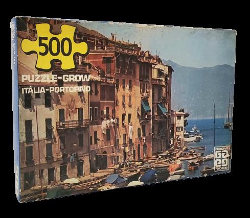 Quebra-Cabeça 500 peças - Grow - Itália, Portofino