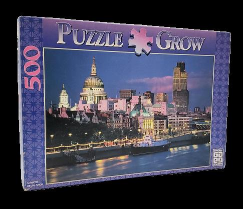Quebra-Cabeça 500 peças - Grow - Londres