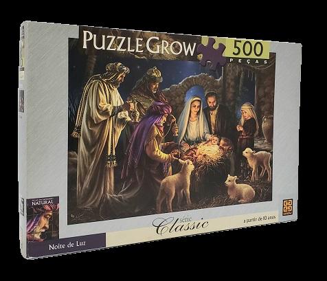 Quebra-Cabeça 500 peças - Grow - Noite de Luz