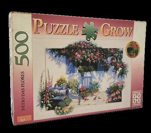 Quebra-Cabeça 500 peças - Grow - Patio das Flores