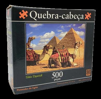 Quebra-Cabeça 500 peças - Grow - Piramides do Egito
