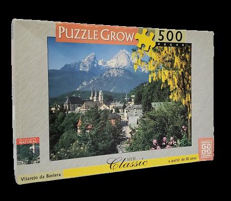 Quebra-Cabeça 500 peças - Grow - Vilarejo da Baviera