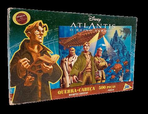 Quebra-Cabeça 500 peças - Jak - Atlantis, O Reino Perdido