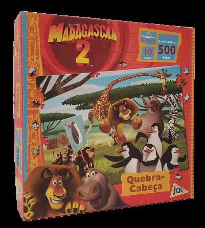 Quebra-Cabeça 500 peças - Jak - Madagascar 2