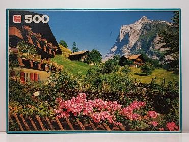 Quebra-Cabeça 500 peças - Jumbo - Wetterhorn, Berner
