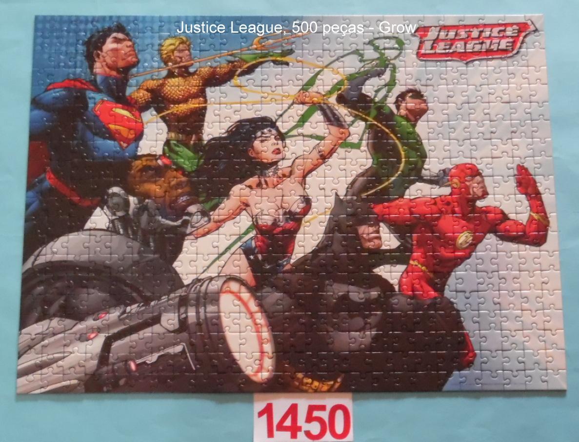 Quebra-Cabeça 500 peças - Justice League