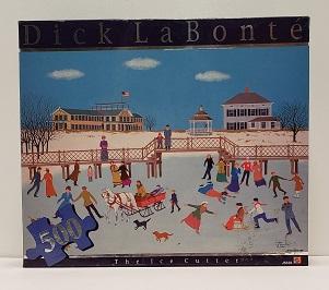 Quebra-Cabeça 500 peças - Mattel - The Ice Cutter, Dick La Bonté