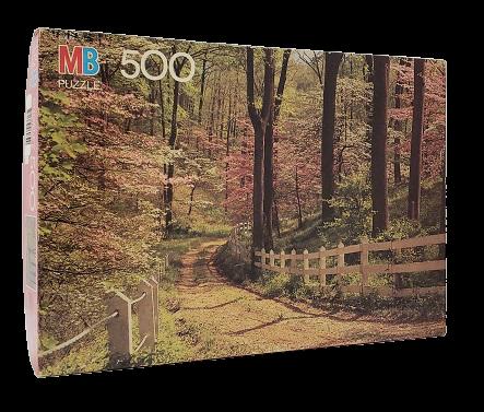 Quebra-Cabeça 500 peças - Milton Bradley - Winchester, MD