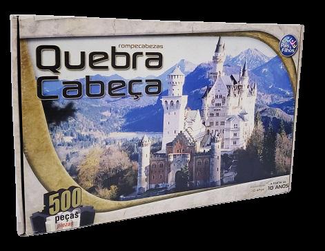 Quebra-Cabeça 500 peças - Pais & Filhos - Castelo Neuschwanstein