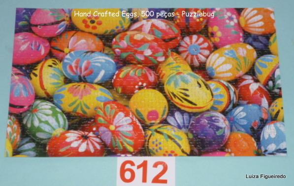 Quebra-Cabeça 500 peças - Puzzlebug - Hand Caft Eggs