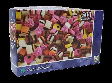 Quebra-Cabeça 500 peças - PuzzleBug - Licorice Candy