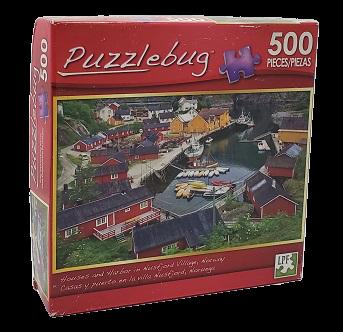 Quebra-Cabeça 500 peças - Puzzlebug - Noruega