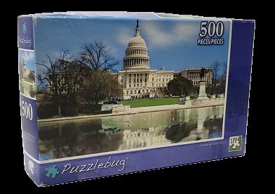 Quebra-Cabeça 500 peças - PuzzleBug - Washington, DC