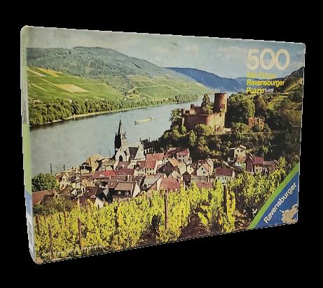 Quebra-Cabeça 500 peças - Ravensbuerger - Niederheimbach