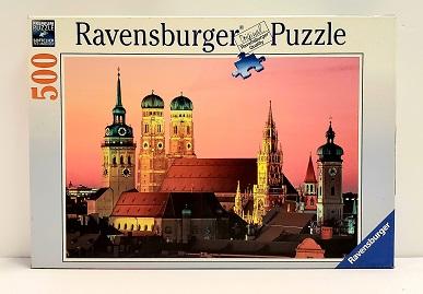 Quebra-Cabeça 500 peças - Ravensbuerger - Skyline Munich