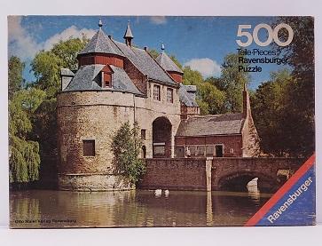 Quebra-Cabeça 500 peças - Ravensburger - Eselstor, Brugge