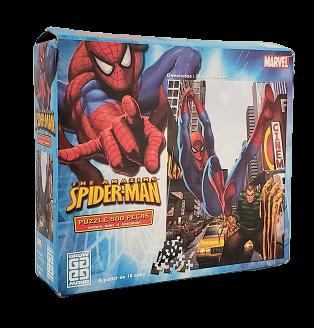 Quebra-Cabeça 500 peças - Spider-Man x SandMan