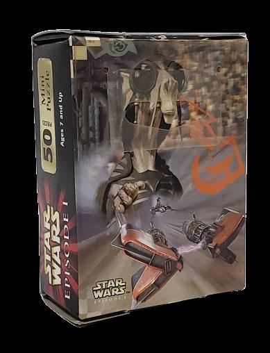 Quebra-Cabeça 50 peças - Hasbro - Star WARS, episode I