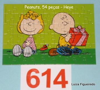 Quebra-Cabeça 54 peças - Heye - Peanuts