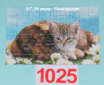Quebra-Cabeça 54 peças - Ravensburger - Dog and Cat
