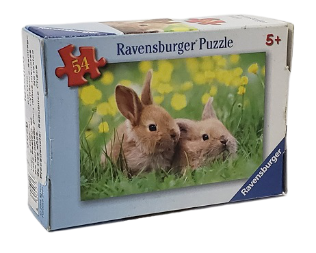 Quebra-Cabeça 54 peças - Ravensburger - Rabbit