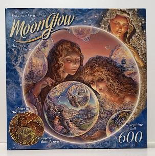 Quebra-Cabeça 600 peças - RoseArt - Buble World,  Glow in the Dark