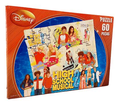 Quebra-Cabeça 60 peças - Grow - Disney High School Music 2