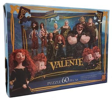 Quebra-Cabeça 60 peças - Grow - Disney Pixar - Valente