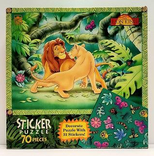 Quebra-Cabeça 70 peças - Golden - Disney, The Lion King (sem stickers)