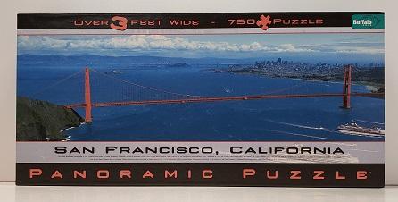 Quebra-Cabeça 750 peças - Buffalo - São Francisco California, Panoramic