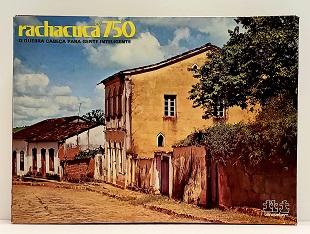 Quebra-Cabeça 750 peças - Rachacuca - Rua de Tiradentes, MG