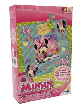 Quebra-Cabeça 89 peças - Ronda - Minnie