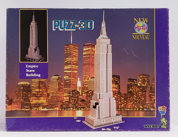 Quebra-Cabeça 902 peças - Wrebbit, Empire State 3D