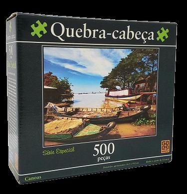 Quebra-Cabeça Grow - 500 peças - Canoas