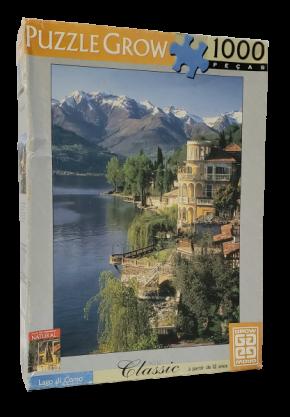 Quebra-Cabeças 1000 peças - Grow - Lago Di Como