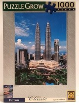 Quebra-Cabeças 1000 peças - Grow - Petronas
