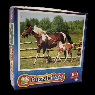 Quebra-Cabeças 100 peças - Cardinal Games - On The Meadow