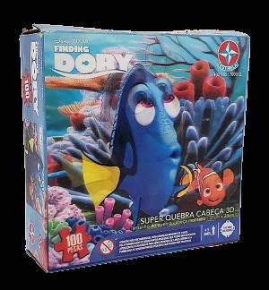 Quebra-Cabeças 100 peças - Estrela - Finding Dory lenticular
